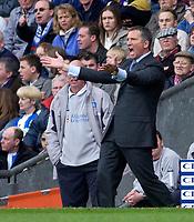 Photo. Glyn Thomas, Digitalsport.<br /> Blackburn Rovers v Leicester City. <br /> FA Barclaycard Premiership. 17/04/2004.<br /> Blackburn's manager Graeme Souness.