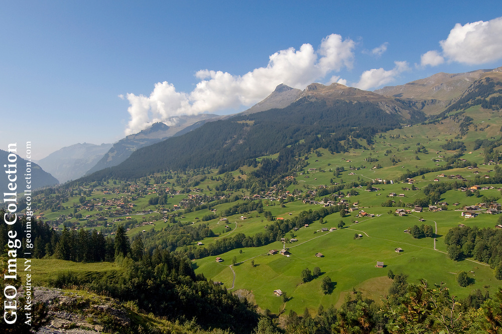 The scenic Grindelwald Valley.