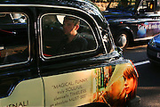 England, London: taxi cab England, London: