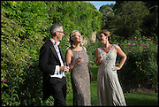 PROVOST WORCESTER COLLEGE PROF JONATHAN BATE; SALLY MANNERS; DR. PAULA BYRNE,  The Tercentenary Ball, Worcester College. Oxford. 27 June 2014