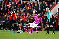 Football - 2016 / 2017 Premier League - AFC Bournemouth vs. Hull City<br /> <br /> Tom Huddlestone of Hull City tackles Bournemouth's Dan Gosling at Dean Court (The Vitality Stadium) Bournemouth<br /> <br /> Colorsport/Shaun Boggust