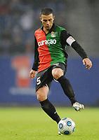 Fotball<br /> Tyskland<br /> Foto: Witters/Digitalsport<br /> NORWAY ONLY<br /> <br /> 26.02.2009<br /> <br /> Youssef El-Akchaoui NEC<br /> Uefa-Cup Hamburger SV - NEC Nijmegen 1:0