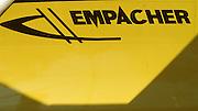 Bled, Slovenia, YUGOSLAVIA.   Equipment, Boat Grafics, Empacher, Germany, Boat builders,1989 World Rowing Championships, Lake Bled. [Mandatory Credit. Peter Spurrier/Intersport Images]