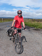 Leaving behind Northumberland (on entry to Co Durham) on the C2C cycle route
