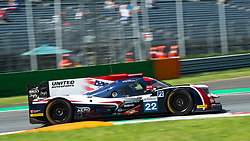 The anglo-american LMP2 team of UNITED AUTOSPORTS with drivers Philip HANSON and Filipe ALBUQUERQUE here on the curb of first chicane in Monza during the ELMS 4 hours 2018. They placed in 10th position, just above the sibling #32 car.
