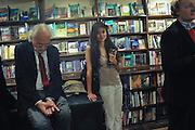 SARAH BRAMLEY, Book launch for Major/Minor by Alba Arikha. A  memoir about her adolescence in Paris published by Quartet Books. Daunts. London. 8 November 2011<br /> <br />  , -DO NOT ARCHIVE-© Copyright Photograph by Dafydd Jones. 248 Clapham Rd. London SW9 0PZ. Tel 0207 820 0771. www.dafjones.com.