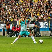 Malmö  2016 05 30 Swedbank stadion<br /> Practice game at Swedbank Stadion<br /> Sweden vs Slovenia<br /> John Guidetti<br /> <br /> <br /> <br /> ----<br /> FOTO : JOACHIM NYWALL KOD 0708840825_1<br /> COPYRIGHT JOACHIM NYWALL<br /> <br /> ***BETALBILD***<br /> Redovisas till <br /> NYWALL MEDIA AB<br /> Strandgatan 30<br /> 461 31 Trollhättan<br /> Prislista enl BLF , om inget annat avtalas.