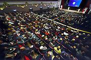 Nederland, Nijmegen, 13-1-2015Directeur Antoine Driessen van de rabobank rijk van nijmegen houdt zijn toespraak op de ledenvergadering van de bank. Concertgebouw de Vereniging is goed gevuld met publiek, belangstellenden, leden.FOTO: FLIP FRANSSEN/ HOLLANDSE HOOGTE