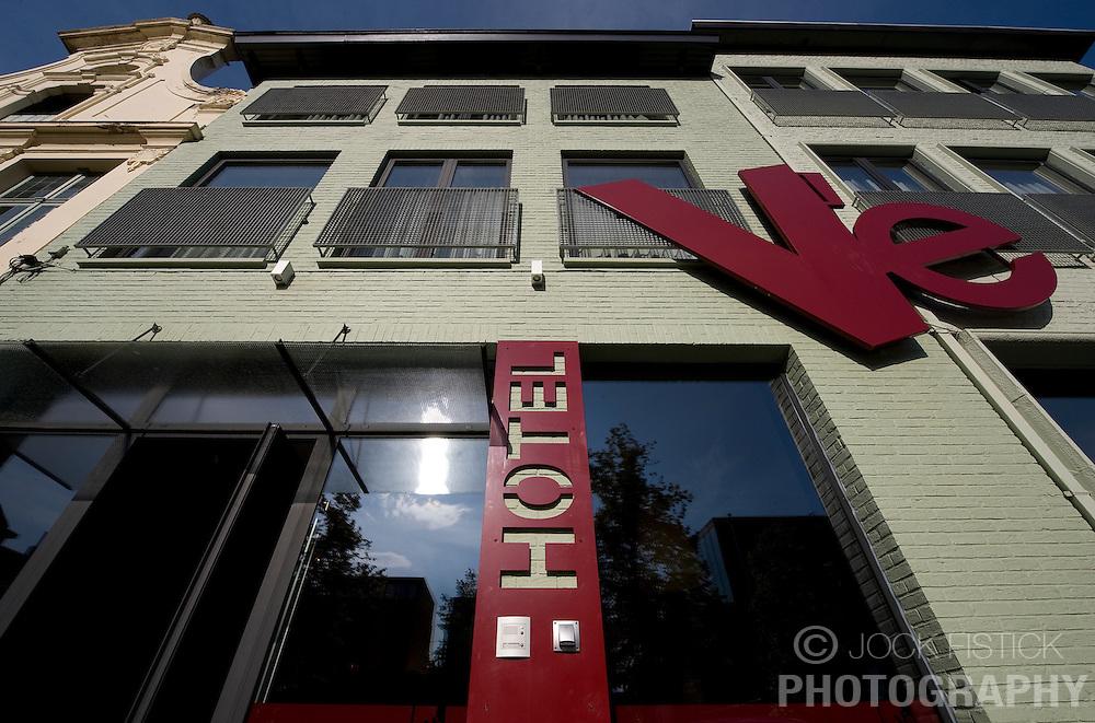 The Hotel Ve on the Vismarkt, in Mechelen, Belgium on Thursday, Sept. 11,2008. (Photo © Jock Fistick)