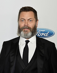 Todd Grinnell at the 43rd Annual Gracie Awards Gala held at the Beverly Wilshire Hotel on May 22, 2018 in Beverly Hills, Ca. © Janet Gough / AFF-USA.COM. 22 May 2018 Pictured: Nick Offerman. Photo credit: Janet Gough / AFF-USA.COM / MEGA TheMegaAgency.com +1 888 505 6342