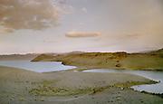 Trekking and camping near the Ureg Nuur lake, Uvz Province, Mongolia.