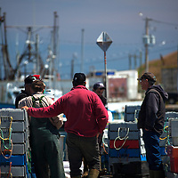 North America, Canada, Nova Scotia, Canso. Fishermen of Canso.