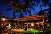 Nightly Hawaiian hula show, Kaanapali Beach Hotel, Kaanapali, Maui, Hawaii