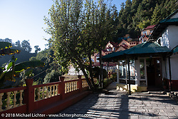 Our inn near the village of Daman where we spent our first night in the mountains on our Himalayan Heroes adventure after riding from Kathmandu to Daman, Nepal. The view took in Dhaulagiri to the west and Mount Everest in the east. Wednesday, November 7, 2018. Photography ©2018 Michael Lichter.