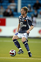 Fotball  18. august 2007  NM  cup , Odd - Viking 2-1<br /> Rene Klingbeil , Viking<br /> René Klingbeil