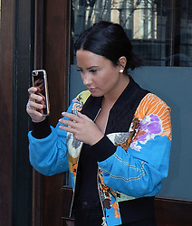 March 21, 2017 - New York, NY, United States - March 21, 2017 New York City....Singer-songwriter Demi Lovato leaves her Manhattan hotel on March 21 2017 in New York City  (Credit Image: © Curtis Means/Ace Pictures via ZUMA Press)