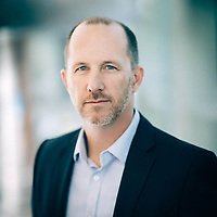 Business executive portrait for Patrick Daugherty, CEO and Founder of Serrimune.