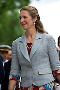 053014 Princess Elena Attends The Opening of Madrid Book Fair