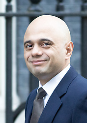 © Licensed to London News Pictures. 29/11/2016. London, UK. Communities and Local Government Secretary Sajid Javid arriving in Downing Street to attend a cabinet meeting this morning. Photo credit : Tom Nicholson/LNP