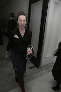 LADY FRANCES ARMSTRONG-JONES, Face of Fashion private view. National Portrait Gallery. London. 12 February 2007.  -DO NOT ARCHIVE-© Copyright Photograph by Dafydd Jones. 248 Clapham Rd. London SW9 0PZ. Tel 0207 820 0771. www.dafjones.com.