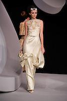 Anna Barsukova walks the runway  at the Christian Dior Cruise Collection 2008 Fashion Show