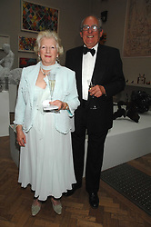 IAN & MARGARET FERGUSON at a gala dinner for the Theatre Royal Bury St.Edmunds to celebrate the near completion of the restoration of the Grade 1 listed theatre, held at the Royal Academy, Piccadilly, London on 9th July 2007.<br />