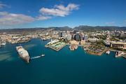 Downtown, Honolulu, Harbor, Oahu, Hawaii