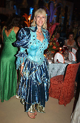 NETTE MASON wife of Nick Mason at the 2004 Goodwood Revival ball this year theme was a Venetian Masked Ball, held at Goodwood Motor Racing circuit, West Sussex on 4t September 2004.