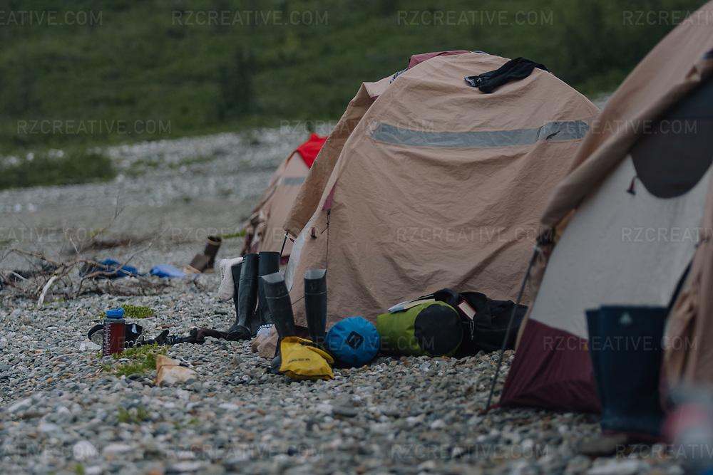 Campsite in southeast Alaska's Glacier Bay National Park. Photo © Robert Zaleski / rzcreative.com