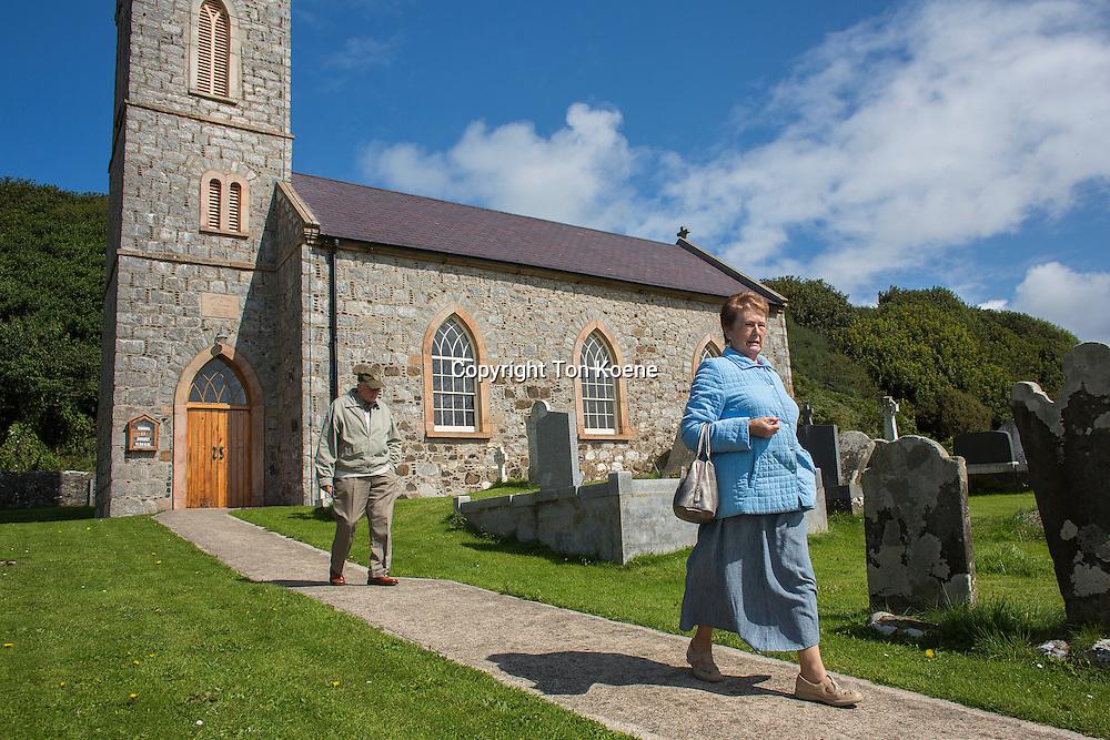 catholic church on cathlin island, northern Ireland