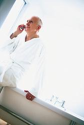 Dec. 14, 2012 - Man talking on cellphone (Credit Image: © Image Source/ZUMAPRESS.com)