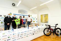 at press conference of charity event Dobrodelnost okoli Slovenije, on April 20, 2021 in Galerija Druzina, Ljubljana, Slovenia. Photo by Matic Klansek Velej / Sportida
