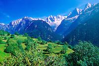 Swiss Alps, Soglio, Switzerland