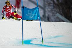 18-02-2018 KOR: Olympic Games day 9, Pyeongchang<br /> Alpine Skiing Men's Giant Slalom at Yongpyong Alpine Centre / Erik Read of Canada