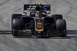 May 11, 2019 - Barcelona, Catalonia, Spain - Kevin Magnussen of Denmark driving the (20) Rich Energy Haas F1 Team VF-19 during qualifying for the F1 Grand Prix of Spain at Circuit de Barcelona-Catalunya on May 11, 2019 in Barcelona, Spain. (Credit Image: © Jose Breton/NurPhoto via ZUMA Press)