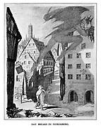Day Breaks in Nuremberg.