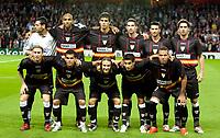 Photo: Ed Godden/Sportsbeat Images.<br /> Arsenal v Sevilla. UEFA Champions League Group H. 19/09/2007. Sevilla Team Pic.