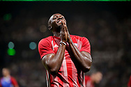 Usain Bolt (FIFA 98) reacted during the 2018 Friendly Game football match between France 98 and FIFA 98 on June 12, 2018 at U Arena in Nanterre near Paris, France - Photo Stephane Allaman / ProSportsImages / DPPI