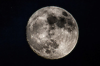 The Moon at full perigee, the coinciding of full moon and shortest distance to the earth. Also known as the Supermoon.