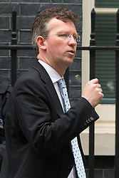 Downing Street, London, June 2nd 2015. Attorney General Jeremy Wright QC leaves 10 Downing Street following the weekly meeting of the Cabinet.