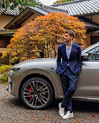 """Johannes Huebl releases a photo on Instagram with the following caption: """"Thrilled to be back in Japan and experiencing the #MaseratiLevanteTrofeo in such fantastic nature @maserati"""". Photo Credit: Instagram *** No USA Distribution *** For Editorial Use Only *** Not to be Published in Books or Photo Books ***  Please note: Fees charged by the agency are for the agency's services only, and do not, nor are they intended to, convey to the user any ownership of Copyright or License in the material. The agency does not claim any ownership including but not limited to Copyright or License in the attached material. By publishing this material you expressly agree to indemnify and to hold the agency and its directors, shareholders and employees harmless from any loss, claims, damages, demands, expenses (including legal fees), or any causes of action or allegation against the agency arising out of or connected in any way with publication of the material."""
