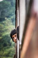Sri Lanka. Traveling by train
