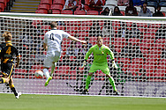 Hereford FC Rob Purdie opens the scoringduring the FA Vase match between Hereford FC  and Morpeth Town at Wembley Stadium, London, England on 22 May 2016. Photo by Dennis Goodwin.