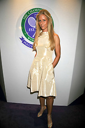 Tennis player Elena Dementieva at The Ralph Lauren Sony Ericsson WTA Tour Pre-Wimbledon Party hosted by Richard Branson at The Roof Gardens on June 18, 2009