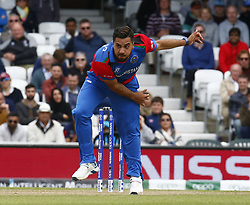 May 27, 2019 - London, England, United Kingdom - Asghar Afghan of Afghanistan.during ICC Cricket World Cup - Warm - Up between England and Afghanistan at the Oval Stadium , London,  on 27 May 2019.Credit Action Foto Sport  (Credit Image: © Action Foto Sport/NurPhoto via ZUMA Press)
