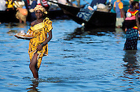 Mali, Segou, Ségoukoro, Ancien royaume Bambara, Fleuve Niger // Mali, Segou, Segoukoro, Ancient kingdom of Bambara, Niger river