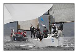 Brewin Dolphin Scottish Series 2011, Tarbert Loch Fyne - Yachting - Day 1 of the 4 day series...GBR5940R Tokoloshe, Michael Bartholomew, Royal Cape YC, King 40.