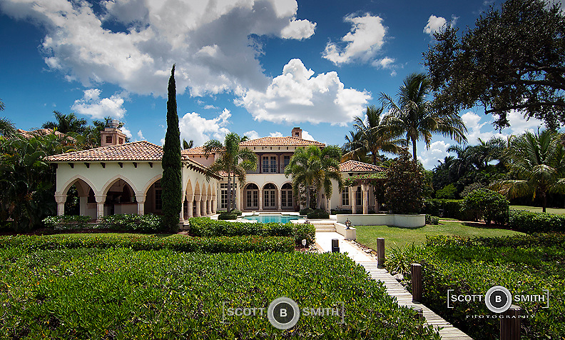 Luxury, custom built home in Jupiter, Florida.  Built in the Tuscan, Italian Venetian style, with five car garage, five bedrooms, eight bathrooms; a total of 9, 016 square feet.  Asking price $5, 877,000.