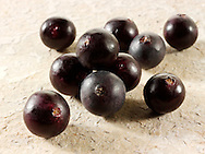 Stock pictures & photos of the acai berries the super fruit anti oxident from the Amazon. The acai berry has been associated with helping weight loss.