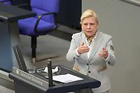 DEU, Deutschland, Germany, Berlin, 25.02.2021: Hilde Mattheis (SPD) in der Plenarsitzung im Deutschen Bundestag.